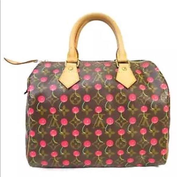 Louis Vuitton Handbags - Louis Vuitton Cherry Cerises Murakami Speedy Bag